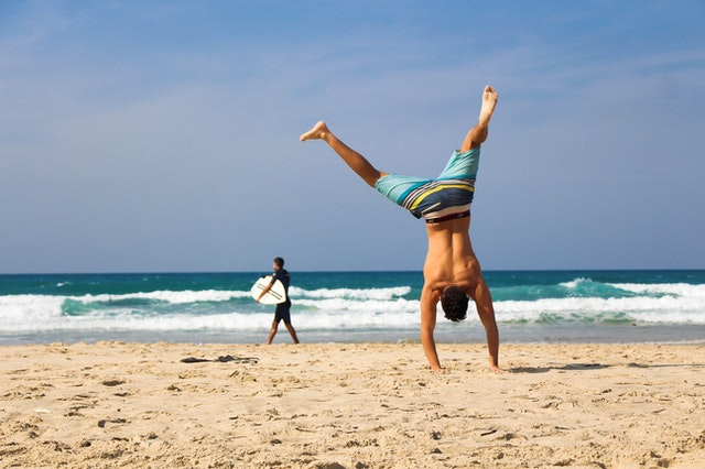 keeping-active-on-the-beach-during-covid-19-pandemic
